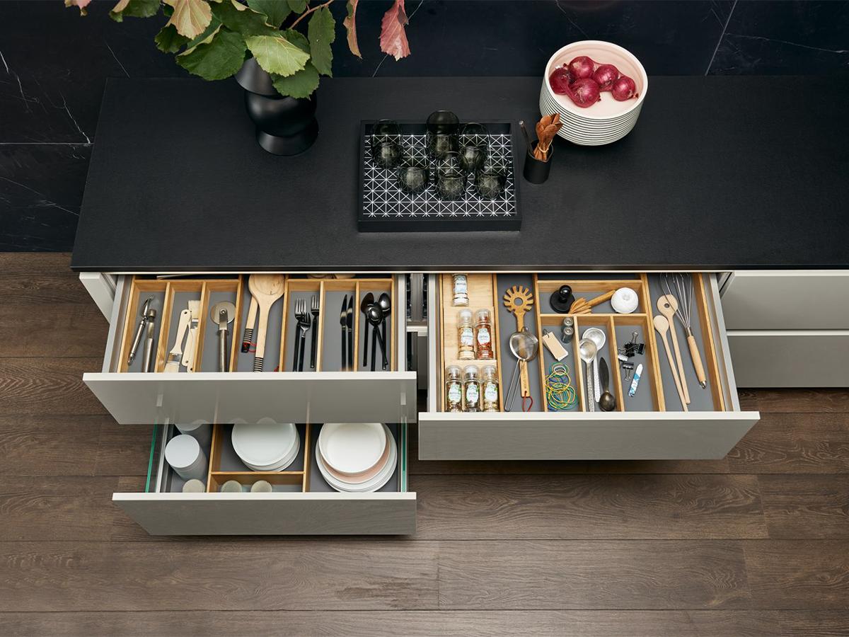 kuchyňa úložný priestor